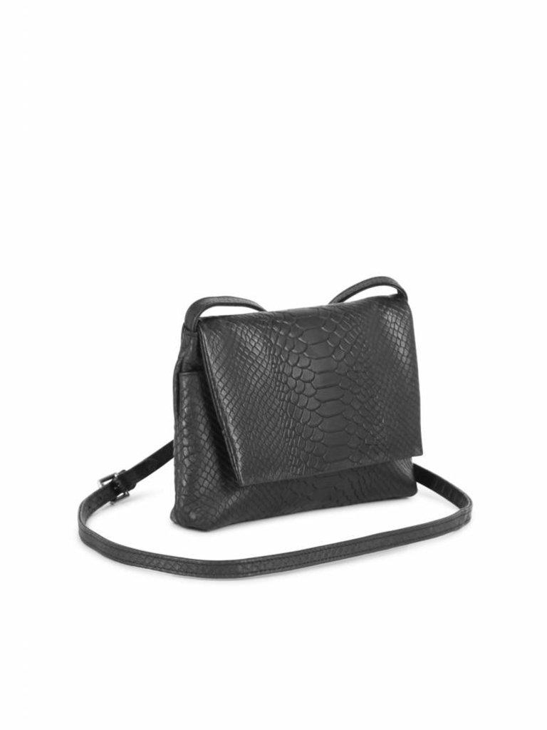 carla crossbody shoulder bag black python - robins hood - dutch ... 71acc384ee3d6