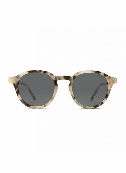 komono crafted damien sunglasses ivory demi