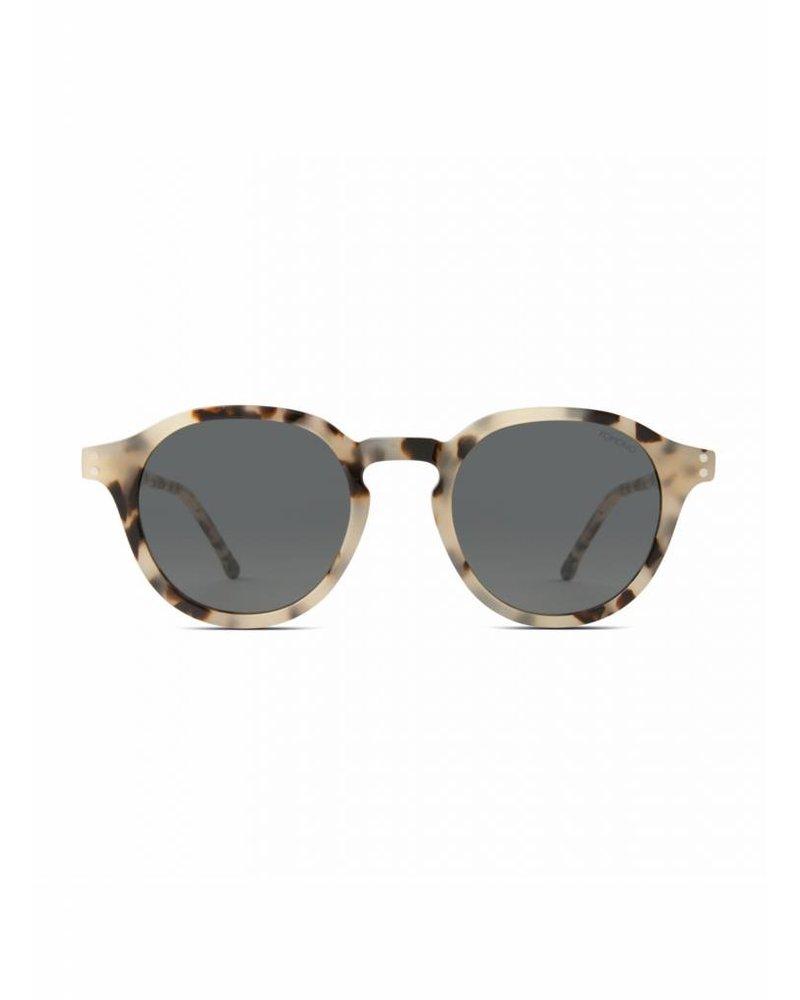komono crafted damien sunglasses ivory demi