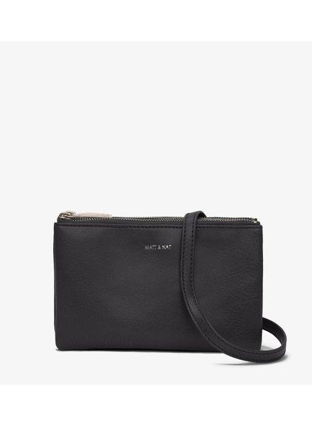 matt and nat triplet shoulderbag black