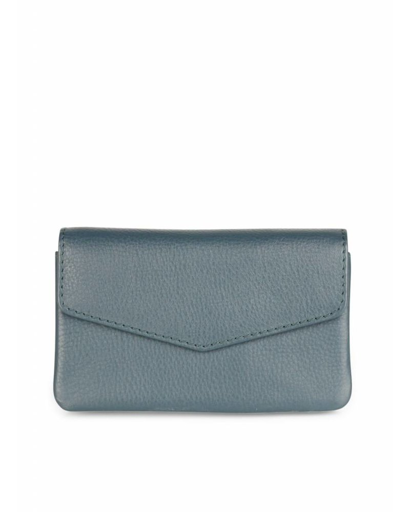 markberg  compact wallet faith teal green