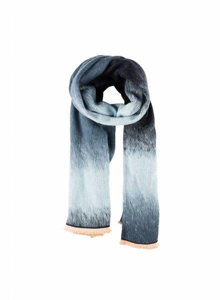 pom amsterdam gradient dream blue sjaal