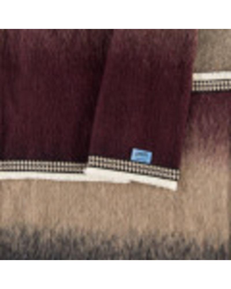 pom amsterdam gradient dream burgundy shawl
