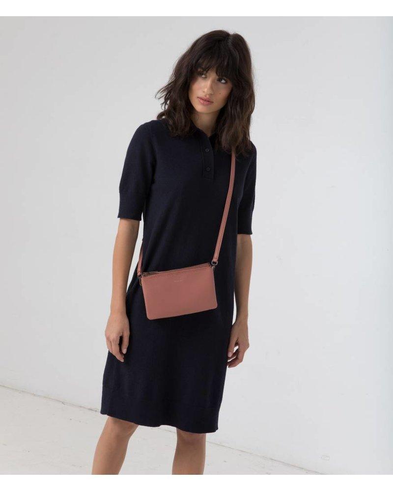 matt and nat triplet shoulderbag blue