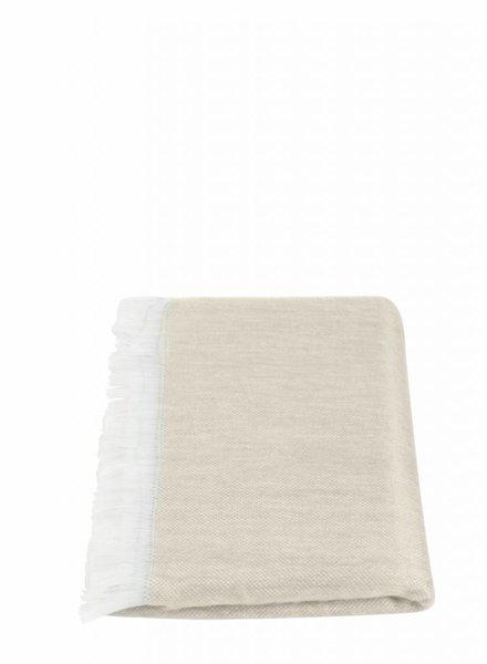 alpacaloca beige sjaal alpaca