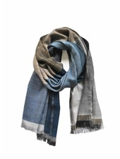 karigar indigo blue amsterdam shawl