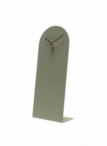 van tjalle & jasper klokkie clock green