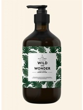 the gift label wild and wonder handlotion