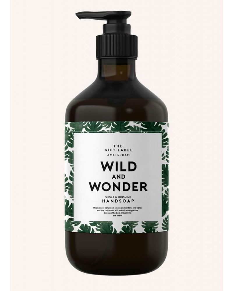 the gift label wild and wonder handzeep