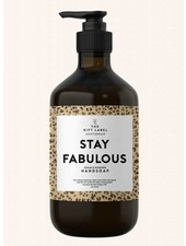 the gift label stay fabulous handzeep