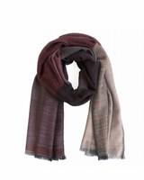 karigar warm red pink mix tokyo two shawl
