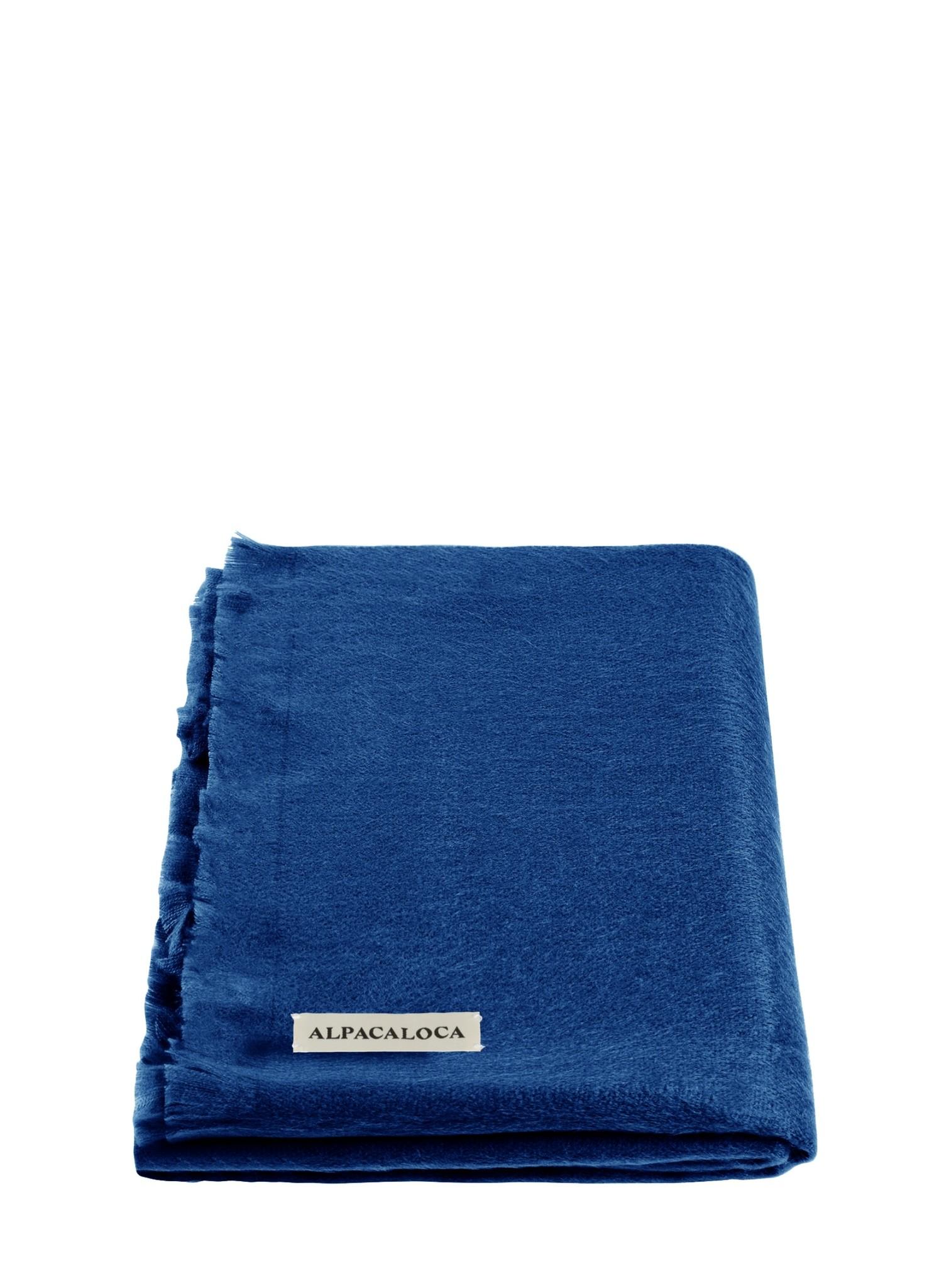 Kobalt Blauwe Accessoires.Kobalt Blauw Sjaal Alpaca