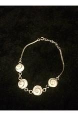 Schelp Eye of Shiva armband verkocht