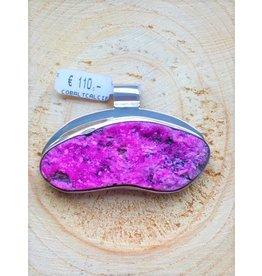 hanger calciet roze ruw hanger