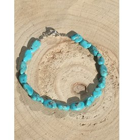 turkoois nugget armband
