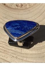 lapis lazuli ring zilver