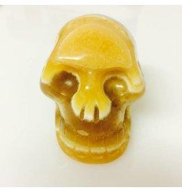 Gele Calciet schedel
