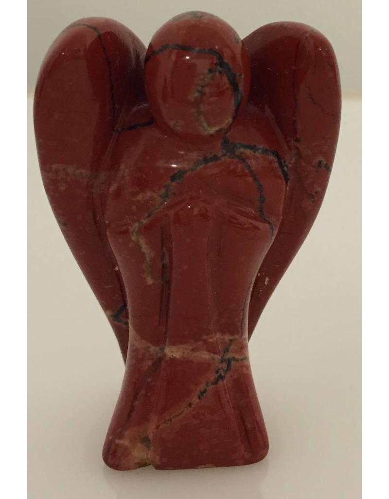 Rode Jaspis engel