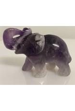 Amethyst olifant