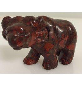Jaspis rood buffel VERKOCHT