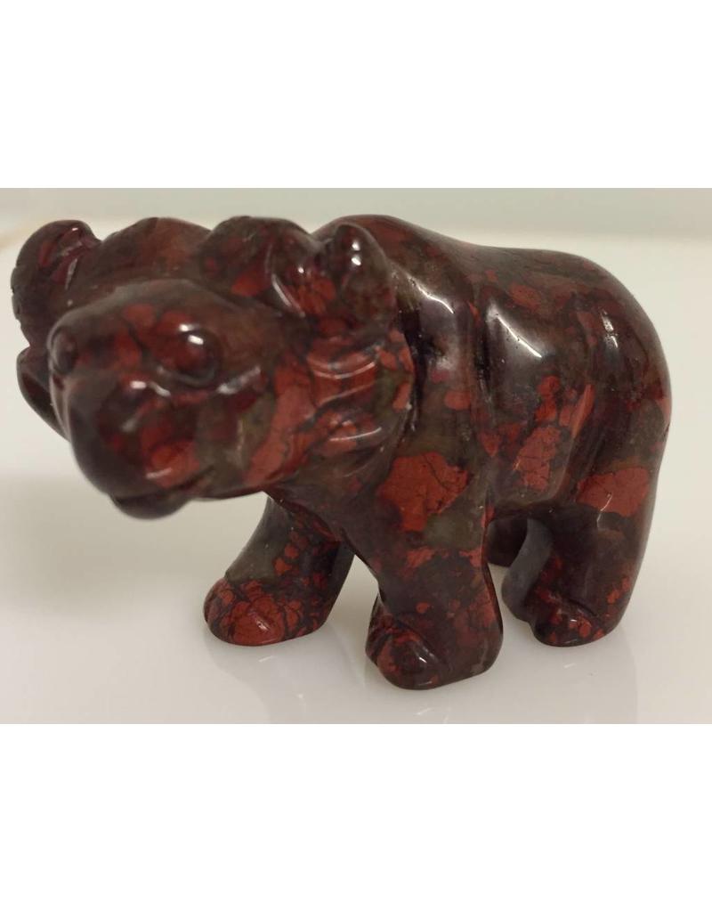 Jaspis rood buffel
