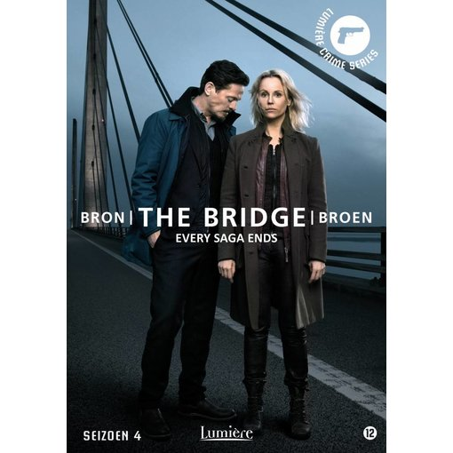 Lumière Crime Series THE BRIDGE Seizoen 4 | DVD