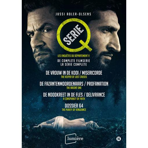 Lumière Crime Films Q-SERIE JUSSI ADLER OLSEN | 4 DVD