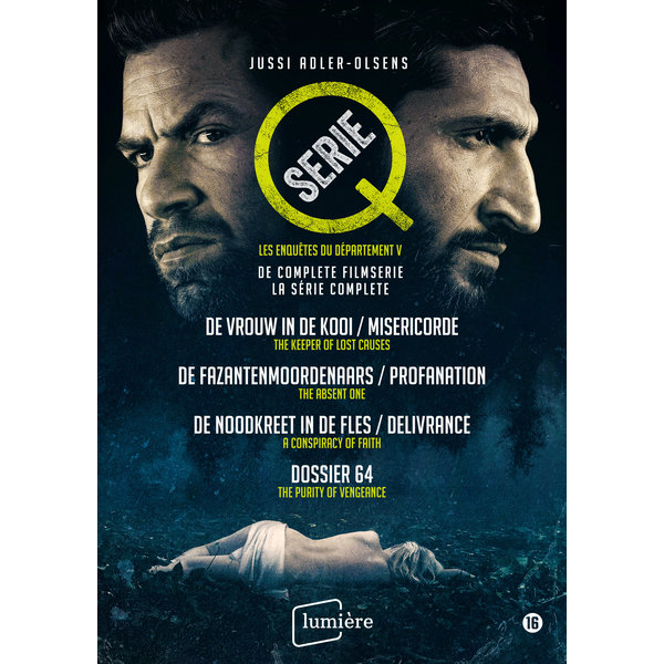 Q-SERIE JUSSI ADLER OLSEN | 4 DVD