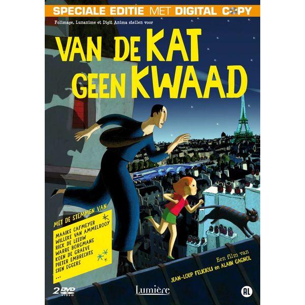 VAN DE KAT GEEN KWAAD | DVD