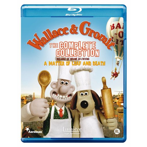 Lumière WALLACE & GROMIT (Blu-ray)
