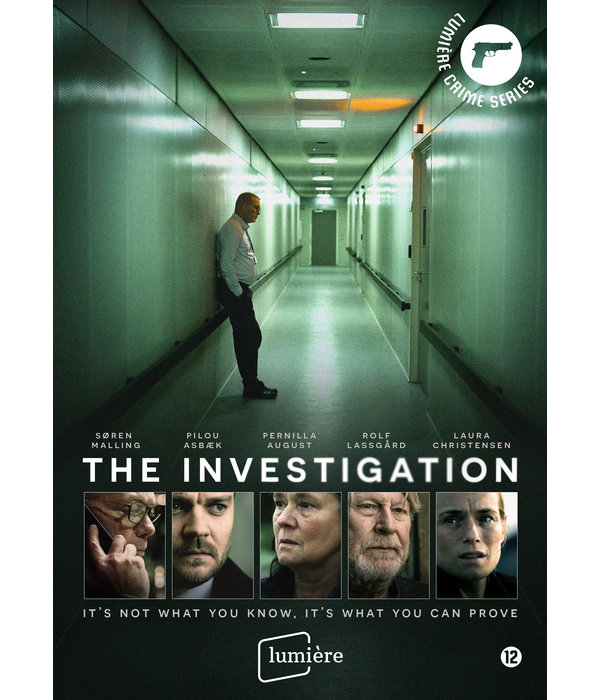 Lumière Crime Series THE INVESTIGATION | DVD | TE RESERVEREN