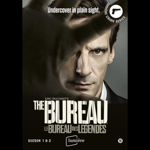 Lumière Crime Series LE BUREAU DES LÉGENDES SEIZOEN 1+2   DVD