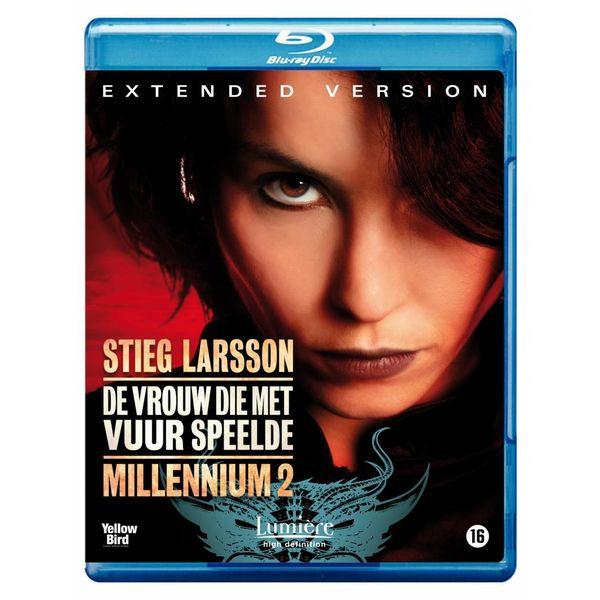 MILLENNIUM 2: DE VROUW DIE MET VUUR SPEELDE - EXT. VERSION (Blu-ray)