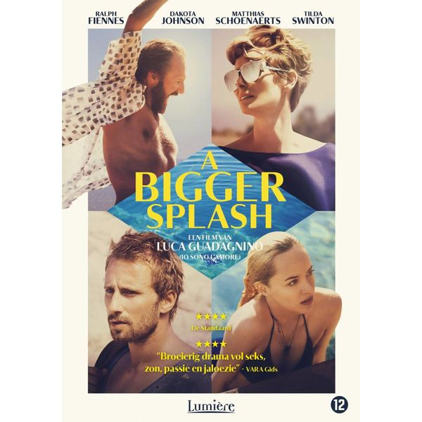 A BIGGER SPLASH | DVD