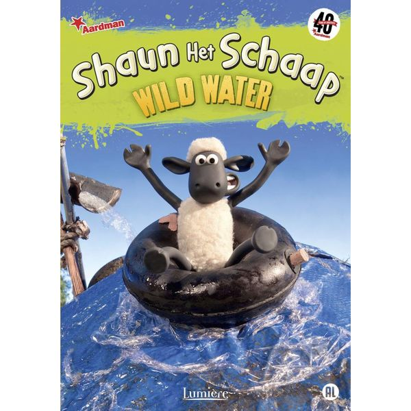 SHAUN HET SCHAAP WILD WATER | DVD