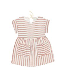 Dress Diana Stripes Brick
