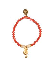 Bracelet Seahorse Coral