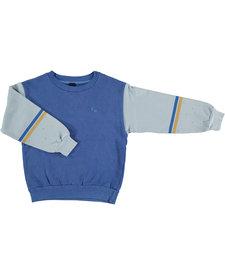 Sweatshirt Brushstroke Blue