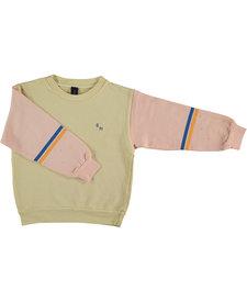 Sweatshirt Brushstroke Pink