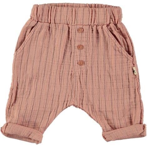 Trousers Sabana Stripes Peach