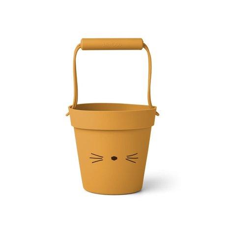 Linda Bucket Cat Yellow Mellow