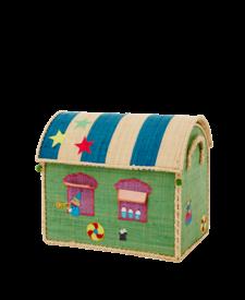 Small Raffia Circus Basket