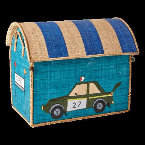 Medium Raffia Car Basket