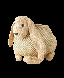 Rabbit Raffia Storage Basket