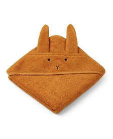Augusta Hooded Towel Mustard
