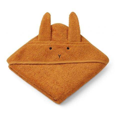 Augusta Hooded Towel Mustard