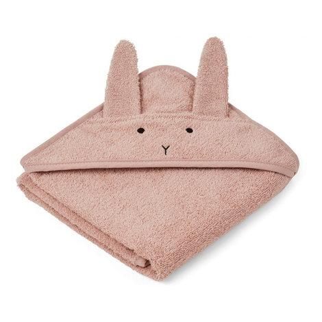 Albert Hooded Towel Pink