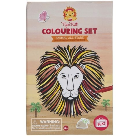 Colouring Set Animals