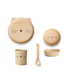 Bamboo Set Cat Yellow