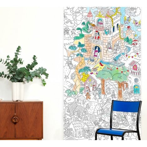 Giant Coloring Poster Tales & Legends